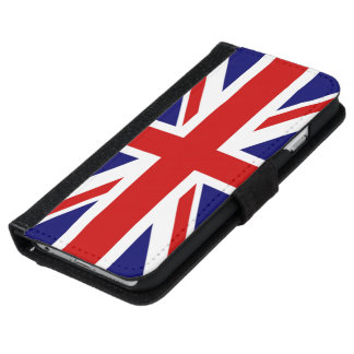 Very Cool U.K flag the union Jack design iPhone 6/6s Wallet Case