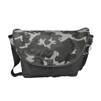 Very Cool Urban Camouflage Pattern Messenger Bag