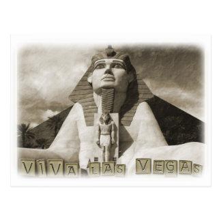 Very Cool Vintage Style Las Vegas Postcard! Postcard