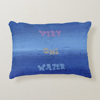 Very Cool Water Pillow. Accent Pillow