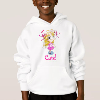 """Very Cute!"" Anime/manga Girl Hoodie"