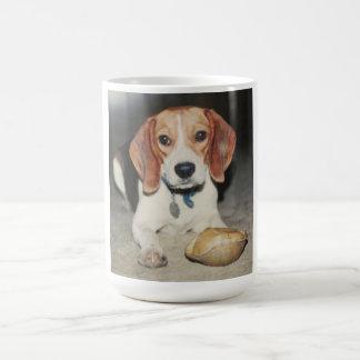 Very Cute Beagle Dog with Upside Turtle Mug