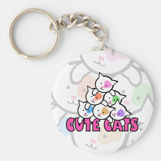 Very cute cat keychain