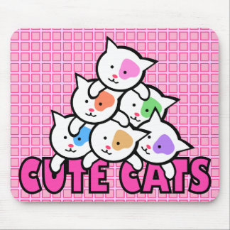 Very cute cat mouse pad