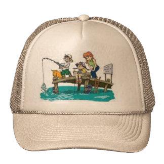 very cute fishing hat