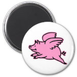 Very Cute Flying Pink Pig Magnets