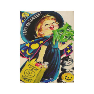 Very Cute Halloween Poster for Kid's Room