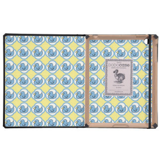 Very Cute Rubber Ducky Retro Pattern Cases For iPad