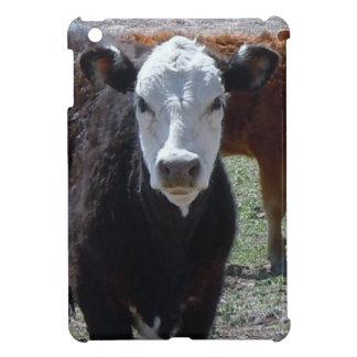 Very Cute Western White Face Cow iPad Mini Cases