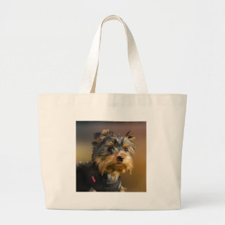 Very cute Yorky Motor products for all Jumbo Tote Bag
