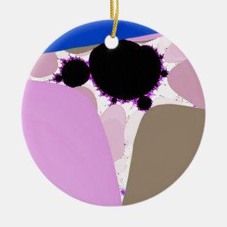 Very D E V O! Fractal Art Designs Ceramic Ornament