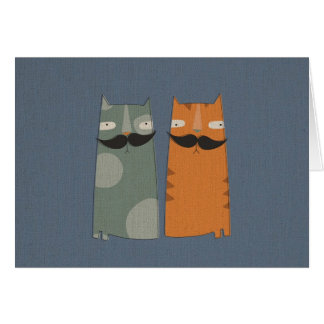Very distinguished gentlecats card