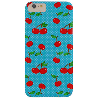 Very Dotty Cherry in Blue Barely There iPhone 6 Plus Case