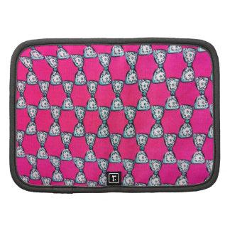 Very Elegant Pink bows Mini Folio Planner