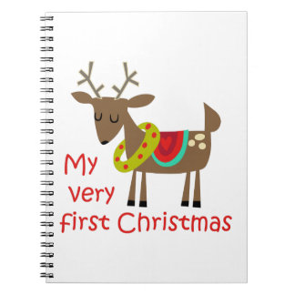 Very First Christmas Notebook