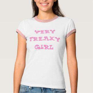 VERY FREAKY GIRL WOMENS TOP
