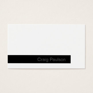 Very Fresh Trend Consultant Business Card