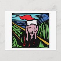 Very Funny Christmas Holiday Postcard