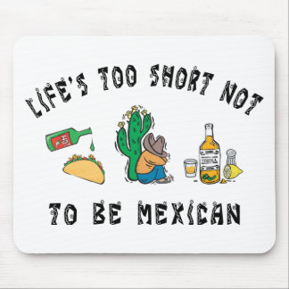 Very Funny Mexican Mouse Pad