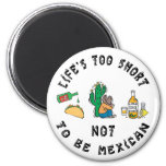 Very Funny Mexican Refrigerator Magnet