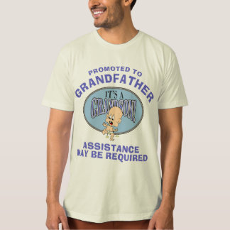 Very Funny New Grandson New Grandfather T-Shirt
