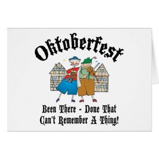 Very Funny Oktoberfest Gift Greeting Card