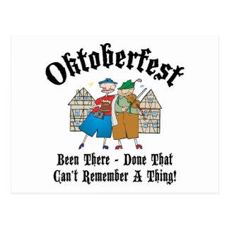 Very Funny Oktoberfest Gift Postcard