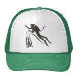 Very Funny SCUBA Diver Trucker Hat