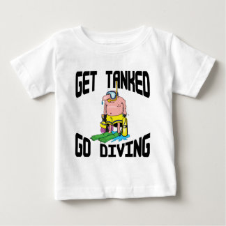 Very Funny SCUBA Diving Baby Baby T-Shirt