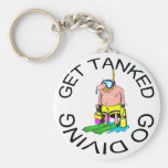Very Funny SCUBA Diving Keychain