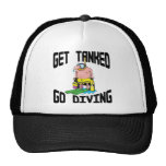 Very Funny SCUBA Diving Mesh Hat