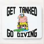 Very Funny SCUBA Diving Mousepads