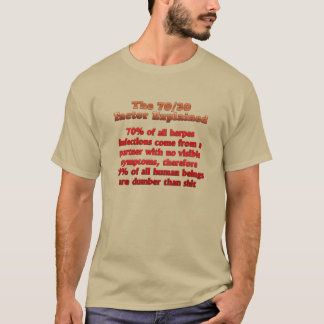 Very Funny - The 70-30 Factor Explained T-Shirt