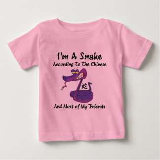Very Funny Year of The Snake Baby T-Shirt