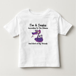 Very Funny Year of The Snake Toddler T-shirt