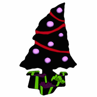 Very Gothy Christmas Tree Photo Sculpture