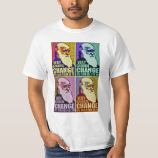 Very Gradual Change Obama/Darwin T-Shirt