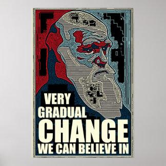 Very Gradual Change Posters