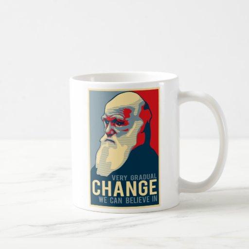 Very Gradual Change We Can Believe In Coffee Mug