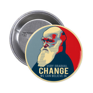 Very Gradual Change We Can Believe In Pinback Button