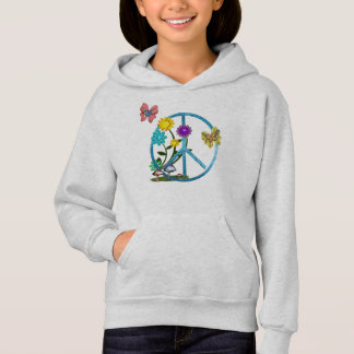 Very Hippy Day Whimsical Fantasy Art Hoodie