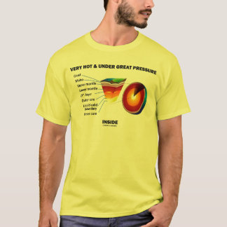 Very Hot & Under Great Pressure Inside (Earth) T-Shirt