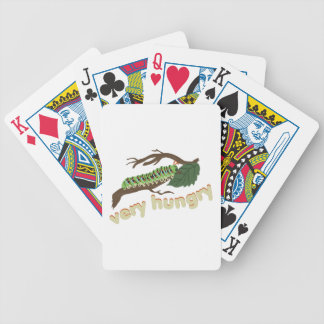 Very Hungry Bicycle Playing Cards