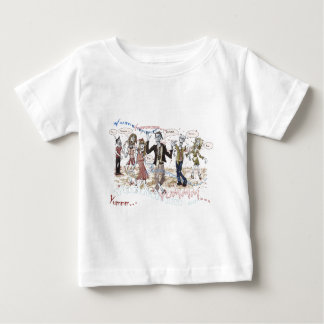 Very Hungry Zombies Baby T-Shirt