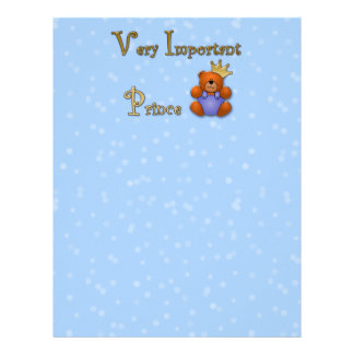 Very Important Prince - papershop Letterhead