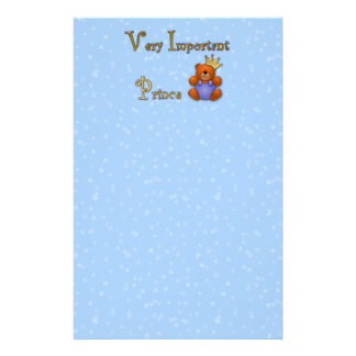 Very Important Prince - papershop Stationery