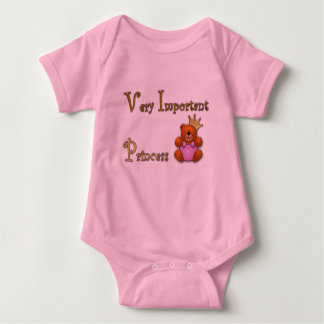 Very Important Princess Baby Bodysuit