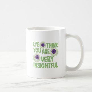 Very Insightful Coffee Mug