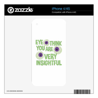 Very Insightful Decals For The iPhone 4S