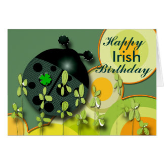 Very Irish Birthday or other occasion Greeting Card